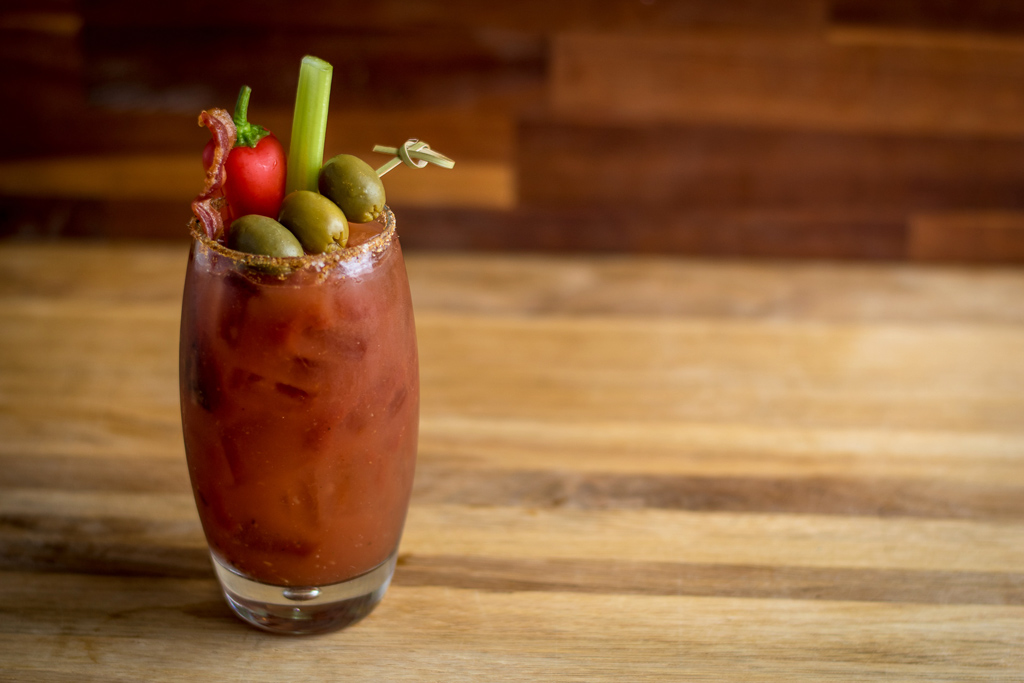 Bloody Mary at Cafe a la C'Art in Tucson